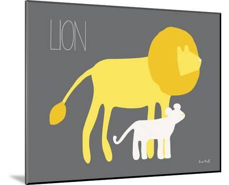 Yellow Zoo II-Kris Ruff-Mounted Art Print