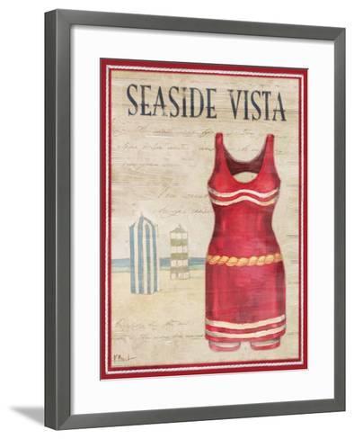 Seaside Vista-Paul Brent-Framed Art Print
