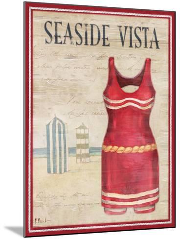 Seaside Vista-Paul Brent-Mounted Art Print