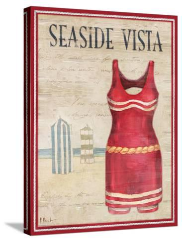 Seaside Vista-Paul Brent-Stretched Canvas Print