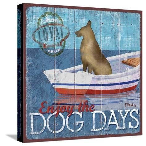 Dog Days II-Paul Brent-Stretched Canvas Print