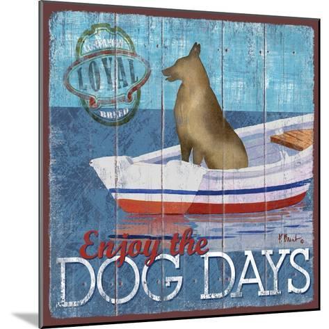 Dog Days II-Paul Brent-Mounted Art Print