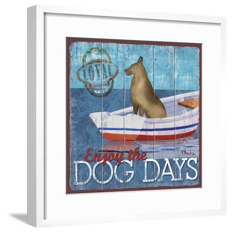 Dog Days II-Paul Brent-Framed Art Print