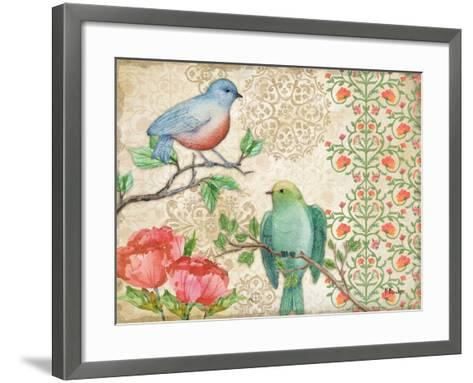 Blossoming Birds II-Paul Brent-Framed Art Print