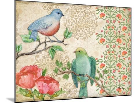 Blossoming Birds II-Paul Brent-Mounted Art Print