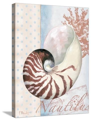 Beachhouse Blue III-Paul Brent-Stretched Canvas Print