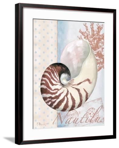 Beachhouse Blue III-Paul Brent-Framed Art Print