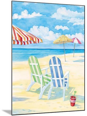 Oceanside I-Paul Brent-Mounted Art Print
