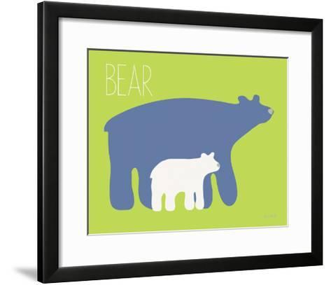 Blue Zoo I-Kris Ruff-Framed Art Print