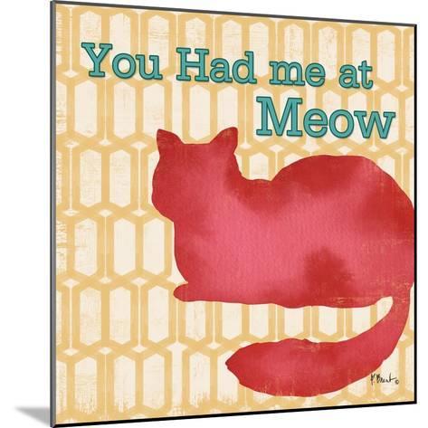 Patterned Pets Cat II-Paul Brent-Mounted Art Print