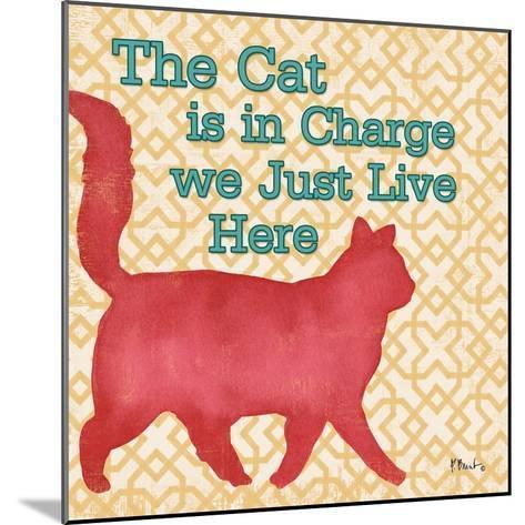 Patterned Pets Cat III-Paul Brent-Mounted Art Print