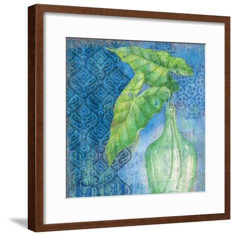 Sea Glass Palm II-Paul Brent-Framed Art Print