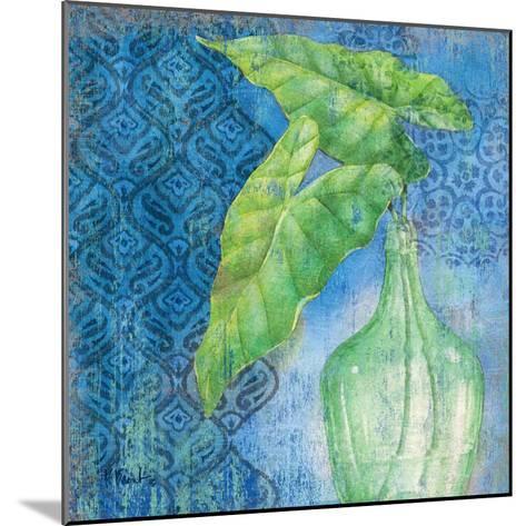 Sea Glass Palm II-Paul Brent-Mounted Art Print