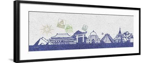 International Skyline I-Sudi Mccollum-Framed Art Print