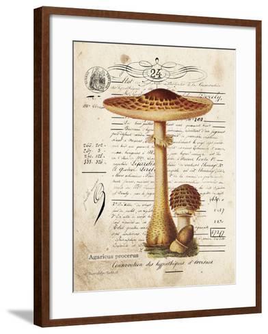 Mushroom I-Gwendolyn Babbitt-Framed Art Print