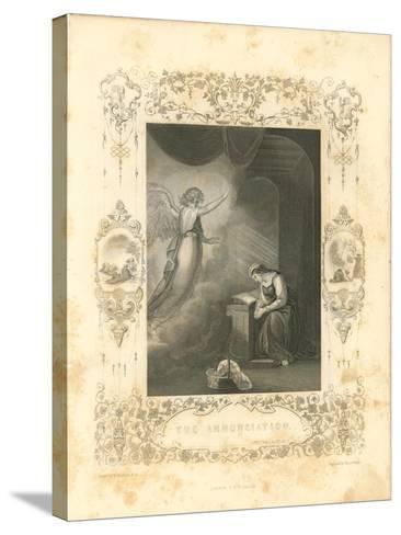 Faith Engraving VI-Gwendolyn Babbitt-Stretched Canvas Print