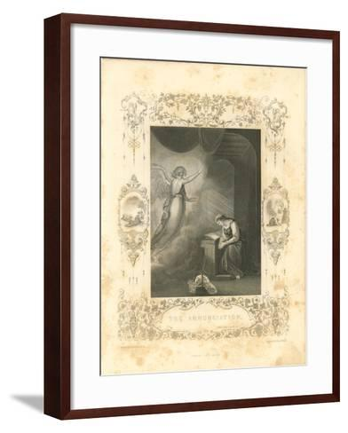 Faith Engraving VI-Gwendolyn Babbitt-Framed Art Print