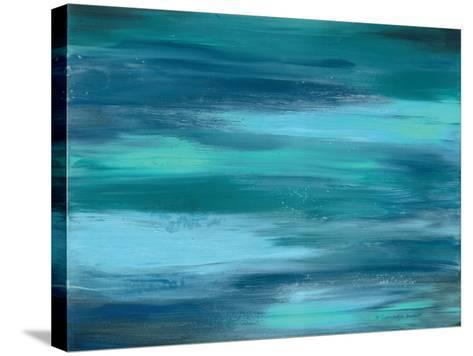Ocean Colors II-Gwendolyn Babbitt-Stretched Canvas Print