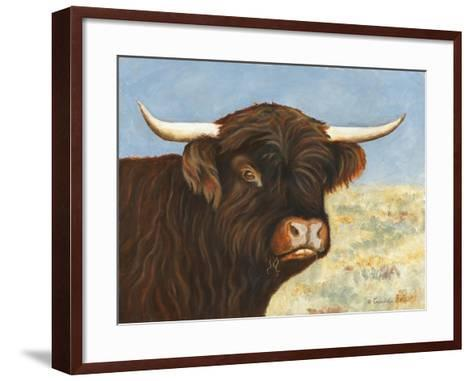 Highland Cow-Gwendolyn Babbitt-Framed Art Print