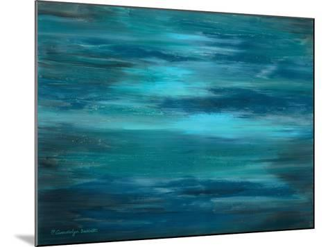 Ocean Colors I-Gwendolyn Babbitt-Mounted Art Print