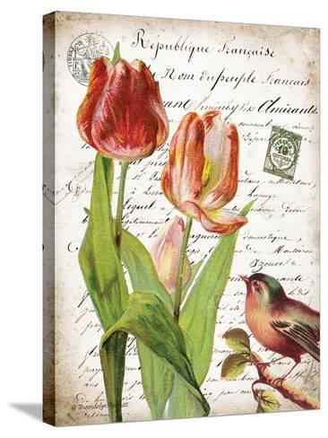French Botanical II-Gwendolyn Babbitt-Stretched Canvas Print