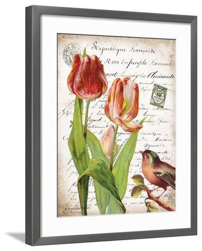 French Botanical II-Gwendolyn Babbitt-Framed Art Print