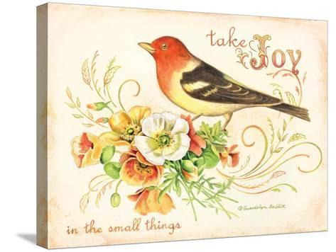 Bird Joy-Gwendolyn Babbitt-Stretched Canvas Print