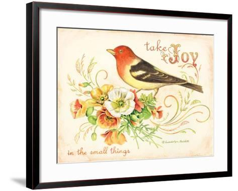 Bird Joy-Gwendolyn Babbitt-Framed Art Print