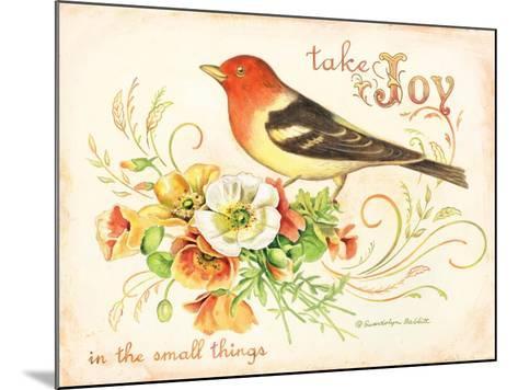 Bird Joy-Gwendolyn Babbitt-Mounted Art Print