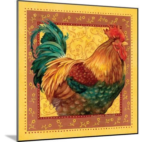 Country Rooster I-Gwendolyn Babbitt-Mounted Art Print