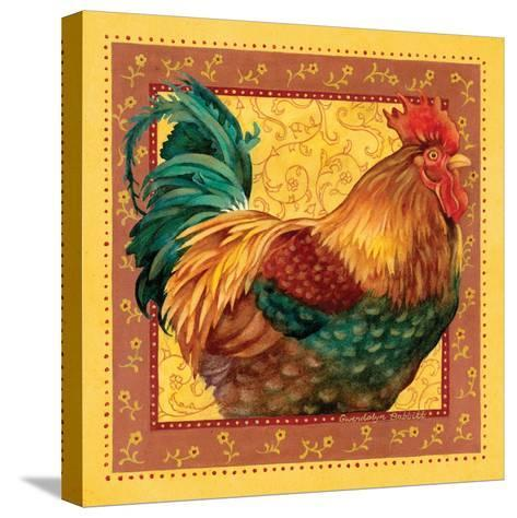 Country Rooster I-Gwendolyn Babbitt-Stretched Canvas Print