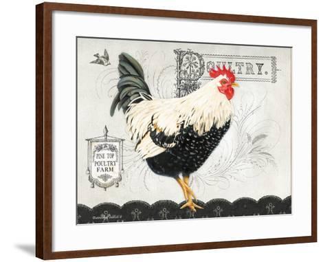 Poultry Farm II-Gwendolyn Babbitt-Framed Art Print