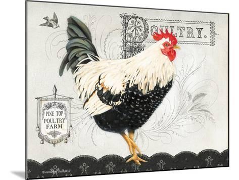 Poultry Farm II-Gwendolyn Babbitt-Mounted Art Print