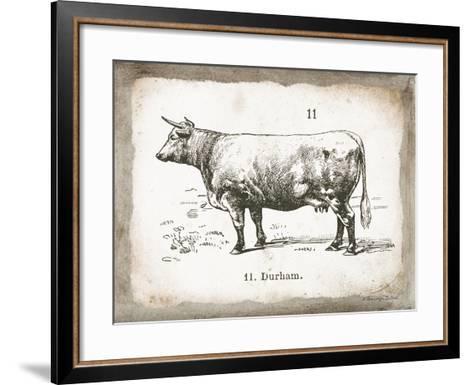 French Cow II-Gwendolyn Babbitt-Framed Art Print