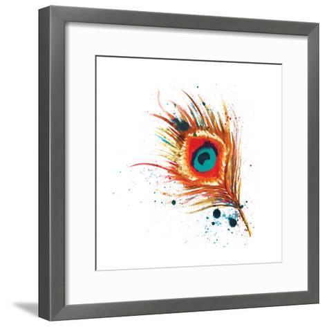Feathers I-Sara Berrenson-Framed Art Print