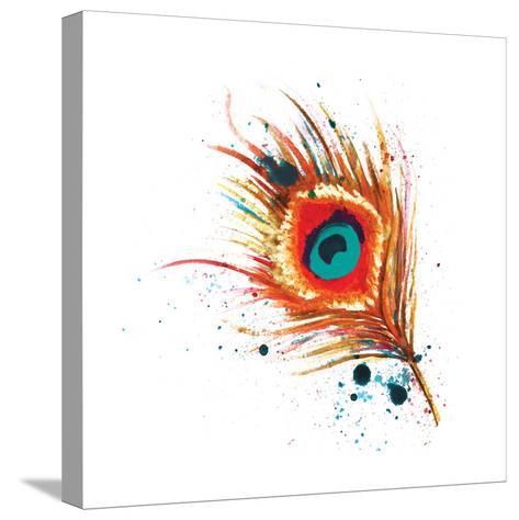 Feathers I-Sara Berrenson-Stretched Canvas Print