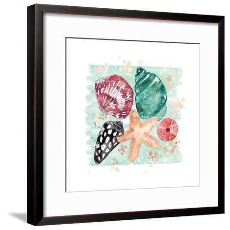 Beachcomber Shells-Sara Berrenson-Framed Art Print