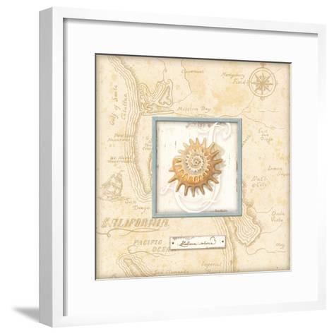 Sea Treasure III-Charlene Audrey-Framed Art Print