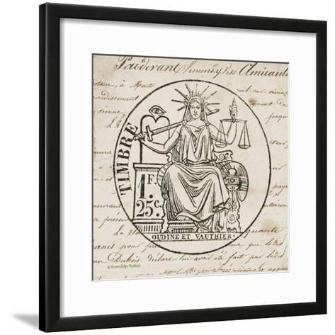French Stamp II-Gwendolyn Babbitt-Framed Art Print