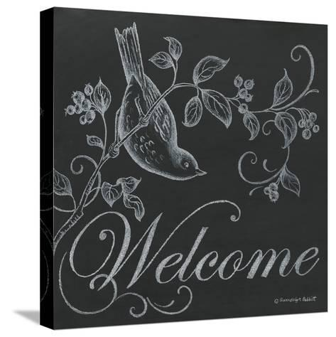 Bird Welcome-Gwendolyn Babbitt-Stretched Canvas Print