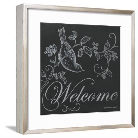 Bird Welcome-Gwendolyn Babbitt-Framed Art Print