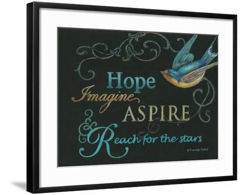 Hope & Bird-Gwendolyn Babbitt-Framed Art Print
