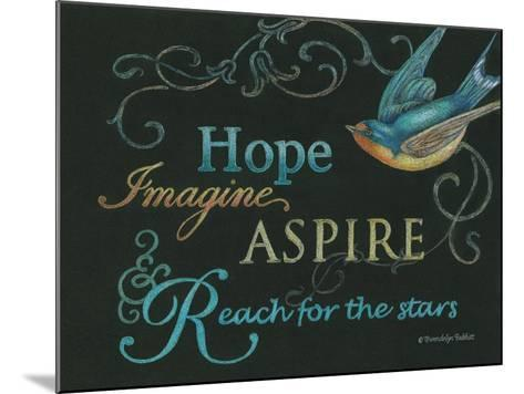 Hope & Bird-Gwendolyn Babbitt-Mounted Art Print