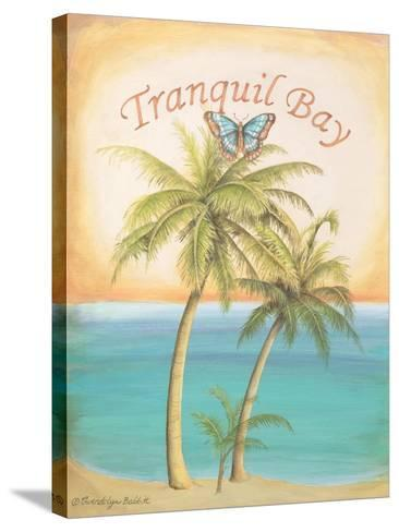 Tranquil Bay-Gwendolyn Babbitt-Stretched Canvas Print