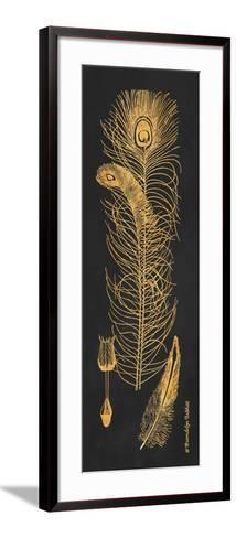Gold Feathers II-Gwendolyn Babbitt-Framed Art Print