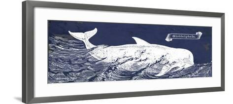 Indigo Whale I-Gwendolyn Babbitt-Framed Art Print