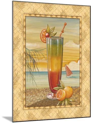 Island Nectar II-Charlene Audrey-Mounted Art Print