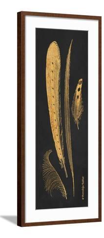 Gold Feathers IV-Gwendolyn Babbitt-Framed Art Print