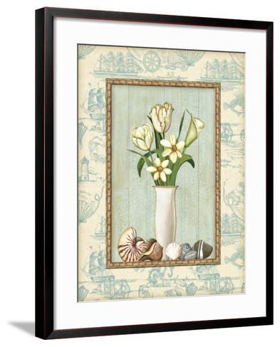 Beach Memories II-Charlene Audrey-Framed Art Print