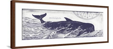 Whale on Cream I-Gwendolyn Babbitt-Framed Art Print